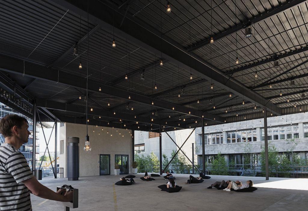 Rafael Lozano-Hemmer, Almacén de Corazonadas, 2006, Vista de la instalacción en la muestra Preabsence, Haus der Elektronischen Künste Basel, Basilea, Suiza, 2016. Foto: Franz Wamhof