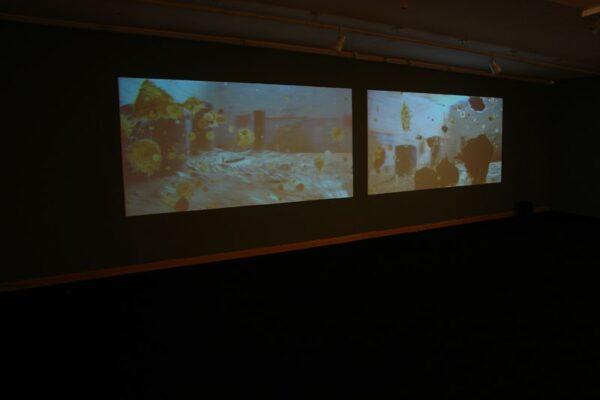 Mecha2010-video-instalación