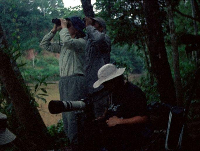 Francisco Casas, Fragmentos románticos de la Amazonía II, 2013 (still de video), impresión digital sobre papel fotográfico, 43 x 35 cm. Cortesía: Metales Pesados Visual