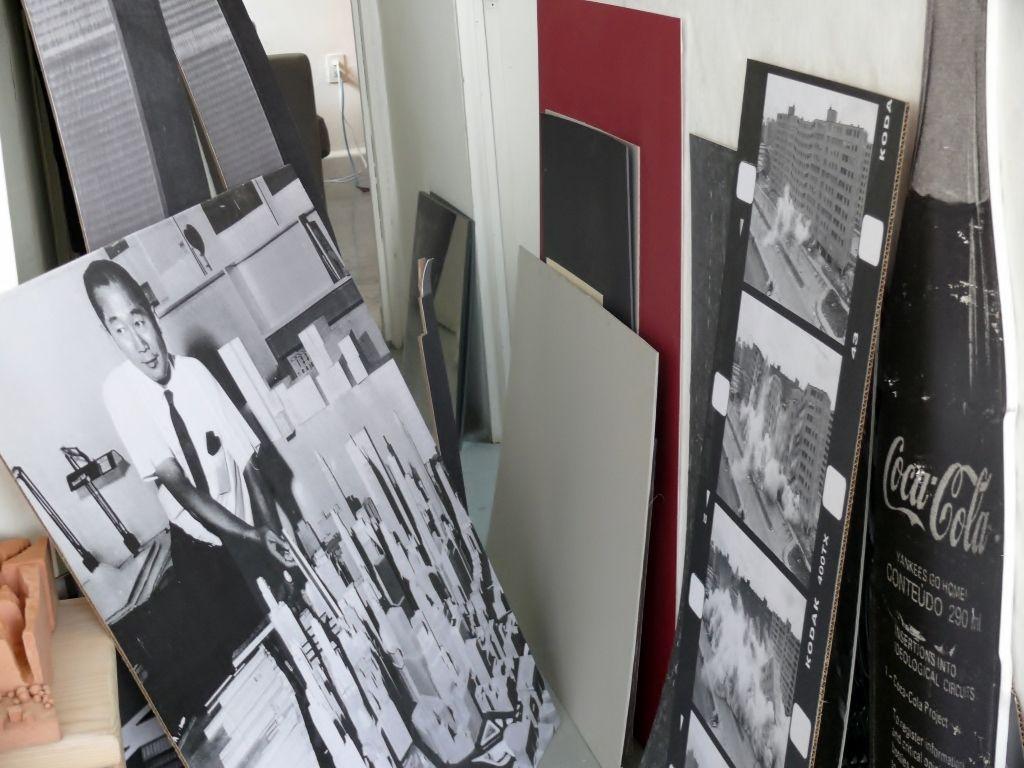 Taller de Damián Ortega. Cortesía: Studio Damián Ortega