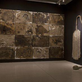 Catalina Bauer. Espías en el fondo del mar. Vista de la muestra. Die Ecke Arte Contemporáneo, Santiago de Chile, 2016. Foto gentileza de la artista.