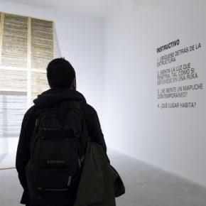Sebastián Calfuqueo. Zonas en Disputa. Vista de la muestra. Museo de Arte Contemporáneo (MAC), Santiago de Chile, 2016. Foto: María José Canales/MAC.