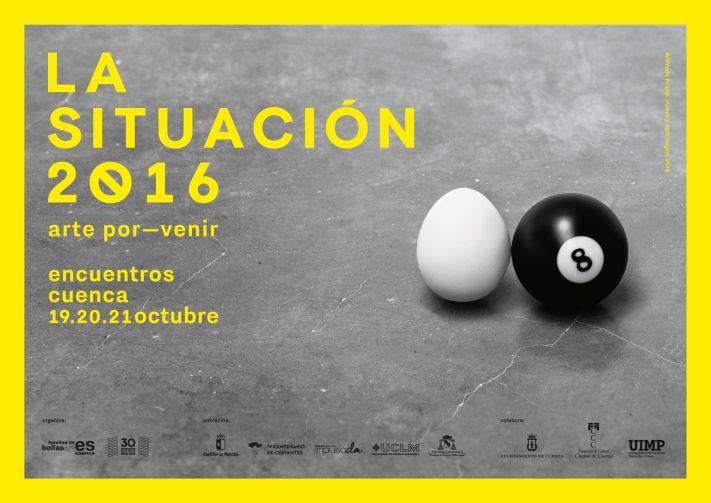 """ENCUENTRO INTERNACIONAL """"LA SITUACIÓN 2016"""" DEBATE PRÁCTICAS ARTÍSTICAS"""