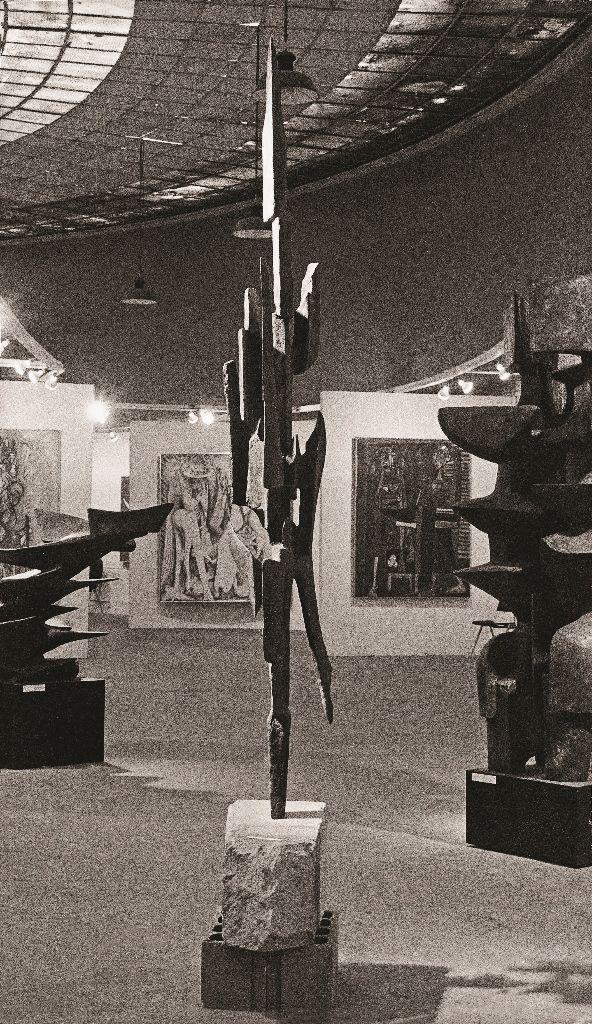 Alicia Penalba. Gran viajero de las noches. 1968. Imagen cortesía MALBA, 2016.