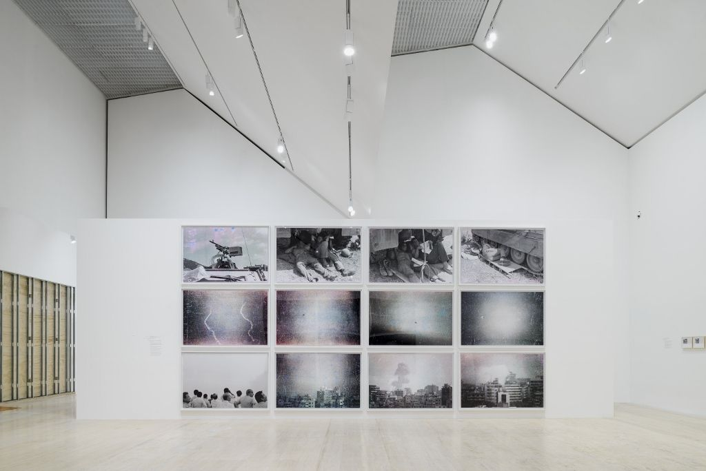 Walid Raad. Vista de la muestra. Foto cortesía Museo Jumex, Ciudad de México. 2016