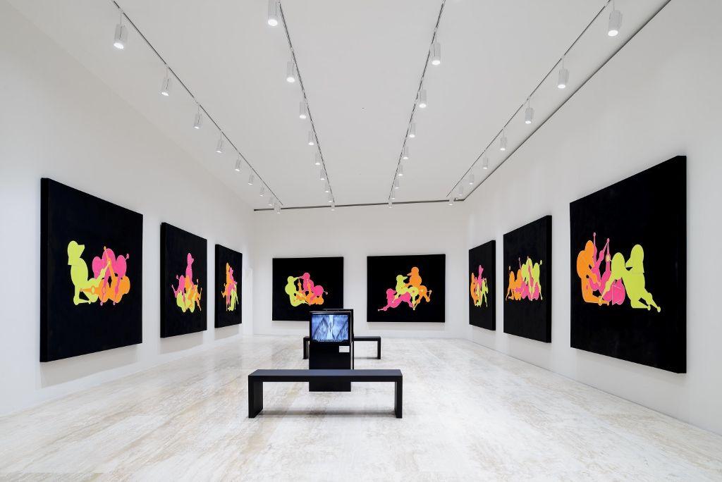 General idea. Tiempo Partido. Vista de la muestra. Imagen cortesía Museo Jumex, Ciudad de México. 2016