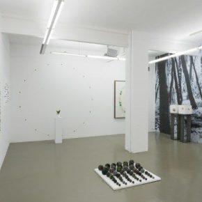 Cristián Silva. Aurora Borealis/Fata Morgana. Vista de la muestra. Imagen cortesía MAISTERRAVALBUENA. Madrid, España