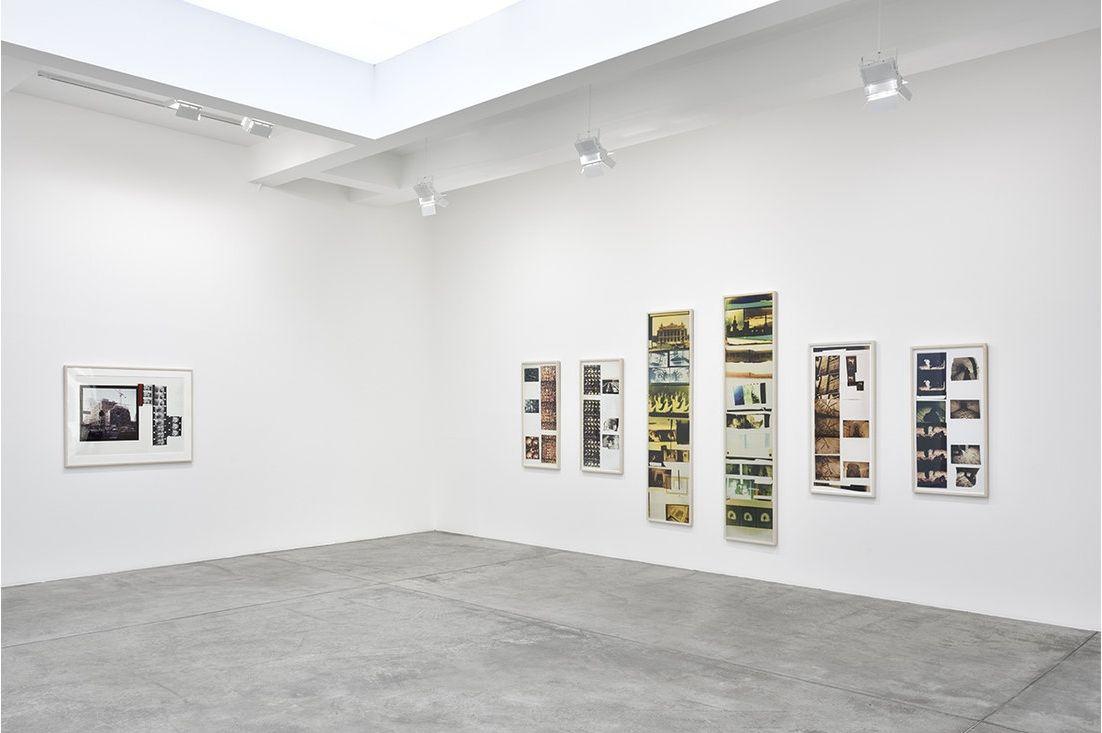 Vista de la exposición de Gordon Matta-Clark en Galerie Marian Goodman, París, 2016. Cortesía de la galería