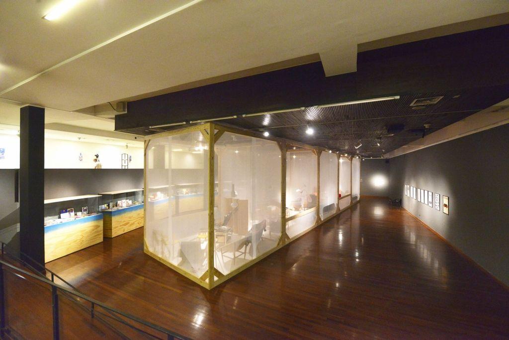 Nórdico: Diseño Escandinavo. Vista de la muestra en el Centro Cultural Gabriela Mistral (GAM), Santiago de Chile, 2016. Foto cortesía: GAM