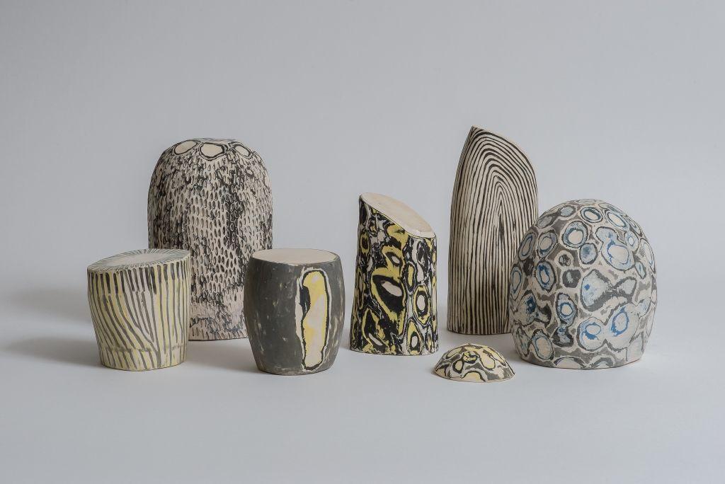Colomba Fontaine, Sin título 2016, cerámica gres. Cortesía de la artista
