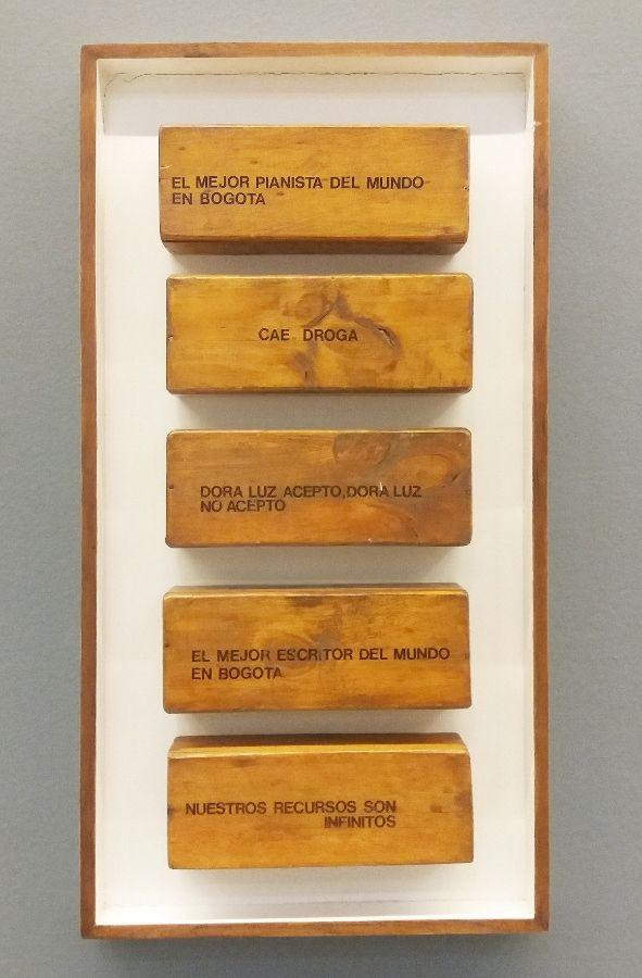 Frases de cajón, 1975. Foto: Úrsula Ochoa