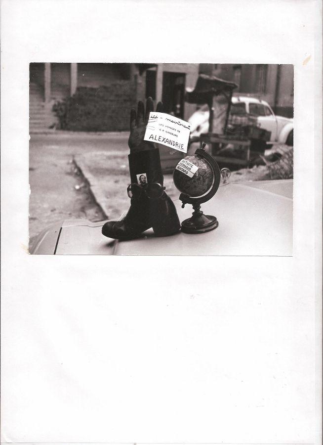 """Intervención Urbana de Carlos Ginzburg, artista que participa en la muestra """"Donde nunca estoy, donde nunca fui"""", en el Centro Cultural Casa de Vacas, Madrid, 2017. Foto cortesía de ARCO/Ifema"""