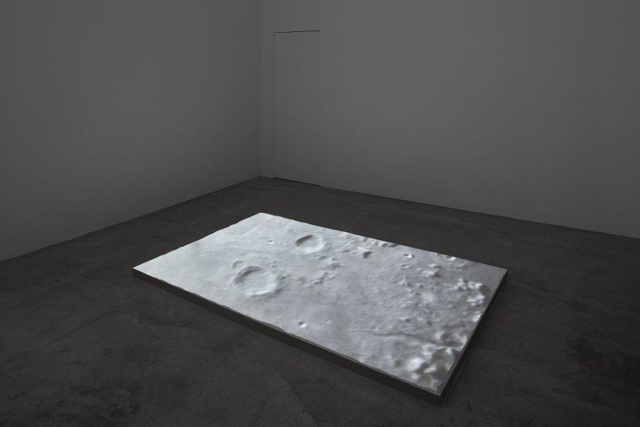 Vista de la exposición Ovipositor, de Pablo Vargas Lugo, en Galería Labor, Ciudad de México, 2017. Cortesía de la galería