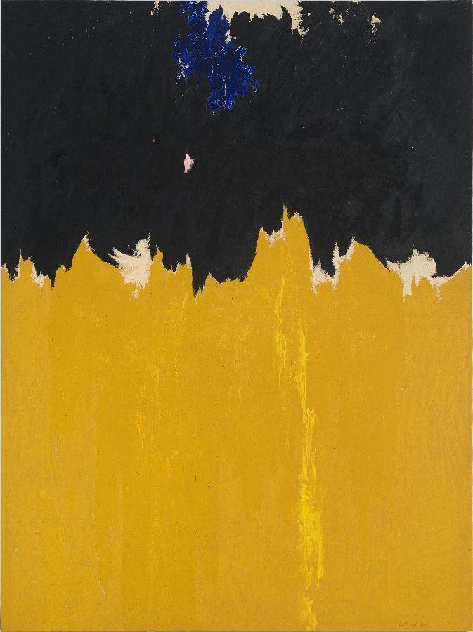 Clyfford Still, PH-950, 1950. Óleo sobre lienzo 233,7 x 177,8 cm. Cortesía Clyfford Still Museum, Denver, Colorado © City and County of Denver, VEGAP, Bilbao, 2016
