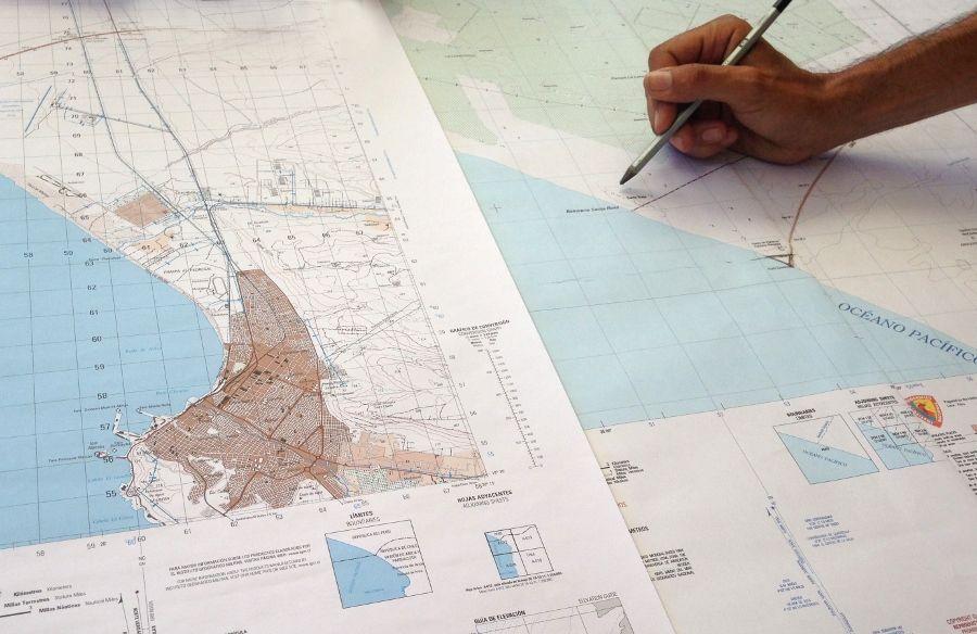 Proyecto Hawapi 2017, Triángulo Terrestre, en el marco de Bienalsur. Cortesía: Proyecto Hawapi