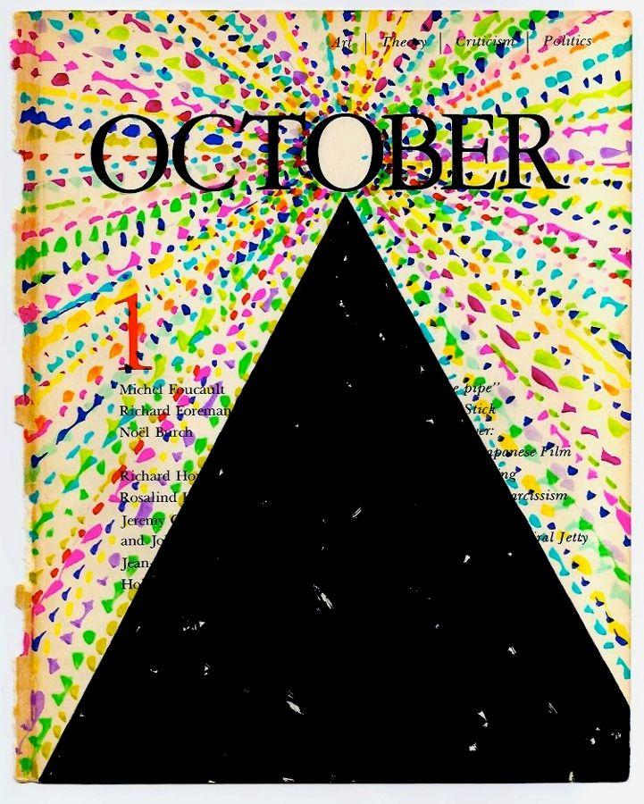 David Batchelor, October (tapa), 2012-2013. Cortesía del artista