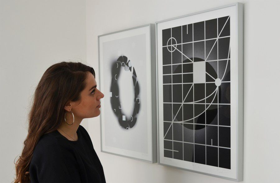 "Exposición ""Tout ce qui est droit ment"" Javier Toro Blum/Benjamín Ossa Cortesía: Galería Sobering, Francia, París."