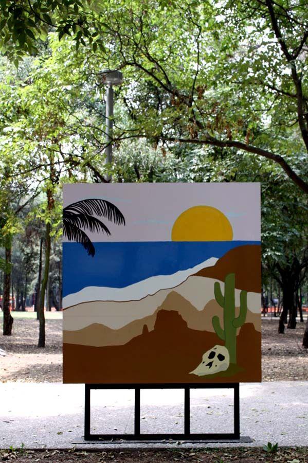 Wilson Díaz en el Museo Tamayo. Cortesía: Museo Tamayo