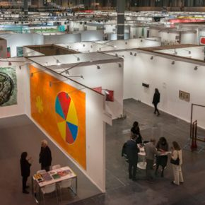 ARCOmadrid 2017. Vista general. Cortesía IFEMA