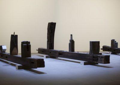Gabriel Orozco en la Esposizione Internazionale d'Arte - La Biennale di Venezia, Viva Arte Viva. Foto: Italo Rondinella. Cortesía: La Biennale di Venezia