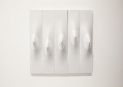 Zilia Sánchez, una de varias obras (1967-2006) en la Esposizione Internazionale d'Arte - La Biennale di Venezia, Viva Arte Viva. Foto: Italo Rondinella. Cortesía: La Biennale di Venezia