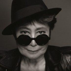 Yoko Ono en Chile. Cortesía: CorpArtes