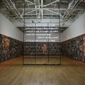 Vista de la exposición de Fernando Prats en el Museo de la Memoria y los Derechos Humanos (MMDDHH), Santiago de Chile, 2017. Cortesía: MMDDHH