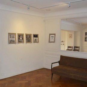 Obras de Christian Vinck. Vista de la exposición