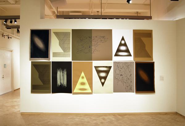 Felipe Mujica, Un día todo esto será tuyo, 2011, Foto Serigrafía, 370 x 200 cm. Instalación en el Museo del Barrio, NY.