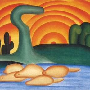 Tarsila do Amaral, Setting Sun (1929). Foto: © Tarsila do Amaral Licenciamentos