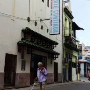 Fachada del espacio de arte contemporáneo Arte Continua, en La Habana, Cuba, 2017. Cortesía: Arte Continua