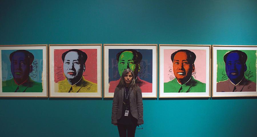 Macarena Murúa, coordinadora de exposiciones del CCPLM. Foto: Sebastián Griesshammer, para Artishock.