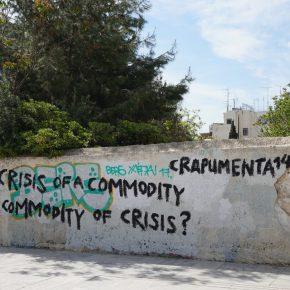 Rayado anónimo, Atenas, foto José de Nordenflycht, abril 2017