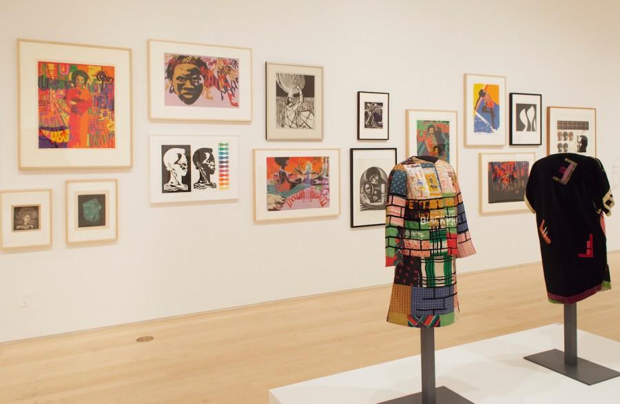 """Vista de la exposición """"We Wanted a Revolution: Black Radical Women, 1965-1985"""", en el Brooklyn Museum, Nueva York. Foto: Jonathan Dorado"""