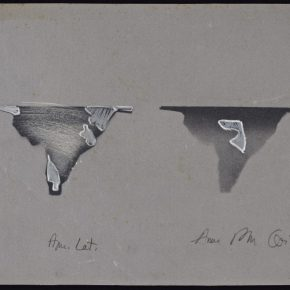 Anna Bella Geiger, América Latina, 1981 Cortesía de Henrique Faria Fine Art