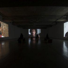 Valerio Rocco Orlando, ¿Qué educación para Marte?, 201-2013. Vista de la instalación en el MAC, Santiago de Chile, 2017. Foto: Isabel Herrera
