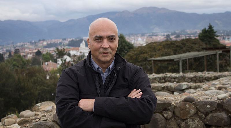 Jesús Fuenmayor, curador de la Bienal de Cuenca 2018. Foto cortesía Bienal de Cuenca