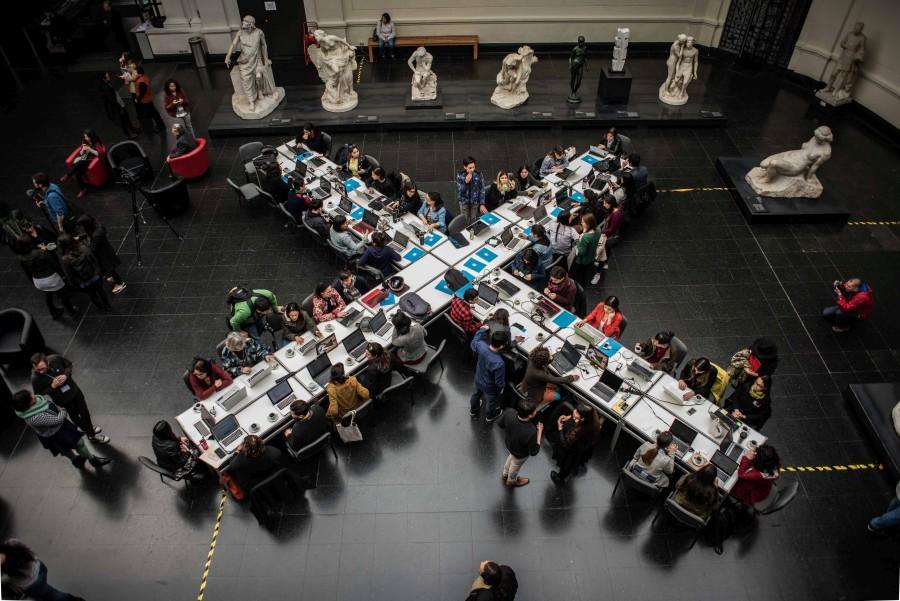 EDITATÓN DE MUJERES ARTISTAS EN CHILE: LA ACCIÓN DE NOMBRAR