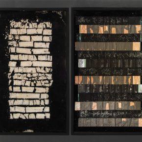 Alejandra Prieto, LI-Ion, 2017, litio, cobre, aluminio, hierro, plástico, madera, resina, 100 × 120 × 3 cm, pieza única. Cortesía de la artista y Die Ecke Arte Contemporáneo (Santiago)