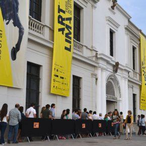 La entrada a la feria Art Lima. Escuela Superior de Guerra del Ejército del Perú (ESGE). Cortesía: Art Lima