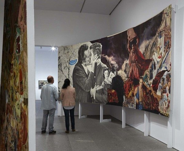 Richard Hamilton, The Funhouse, vista de sala, Museo Reina Sofía, 2014. Foto: Joaquín Cortés / Román Lores
