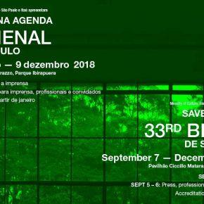 33 Bienal de Sao Paulo, 2018. Invitación