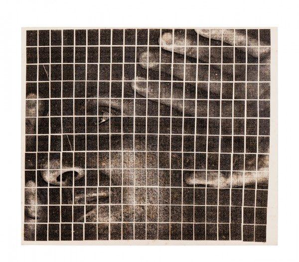 Hudinilson Jr., Sin Título, c.1980, fotocopia sobre papel, 25 x 22 cm.Cortesía: Galería Jaqueline Martins