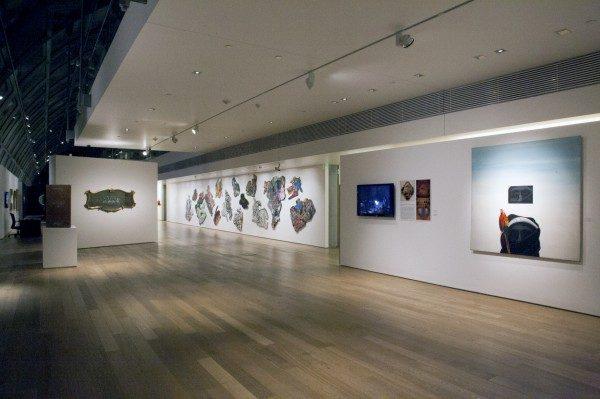 Vista de la exposición. Cortesía: Colección Fortabat