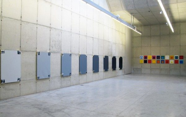 Vista de la exposición Lo que nos hizo modernos, de Sandra Gamarra, en Galeria Leme, Sao Paulo. Cortesía de la galería