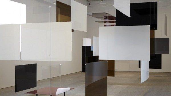 Richard Hamilton, vista de la instalación an Exhibit, 1957, en el Museo Reina Sofía, 2014. Foto: Joaquín Cortés / Román Lores