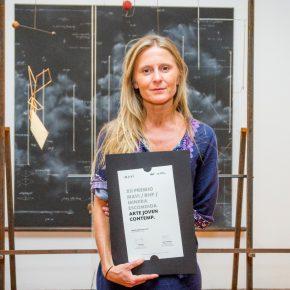 Premio Arte Joven 2017. Primer lugar. Obra Mapa Mental, Construcciones Imposibles de María Edwards