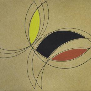 Continuidad (1969), obra de Eduardo Mac Entyre parte de la muestra Eduardo Mac Entyre. Sutilezas de la línea, en el Museo de Arte Contemporáneo de Buenos Aires. Foto: cortesía MACBA.