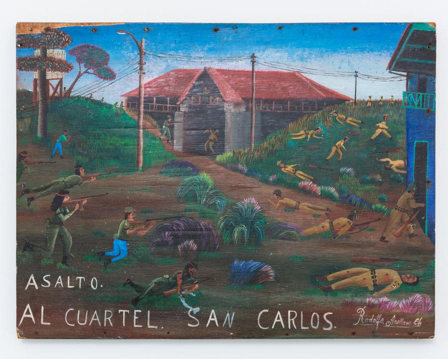 Rodolfo Arellano, Asalto al Cuartel San Carlos, 1979. Cortesía de Ernesto Cardenal