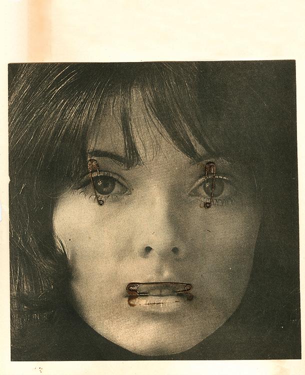 Letícia Parente, Women, 1976, tres xerografías sobre papel. Colección de João Avelar. Cortesía: Universidad de San Diego, California.